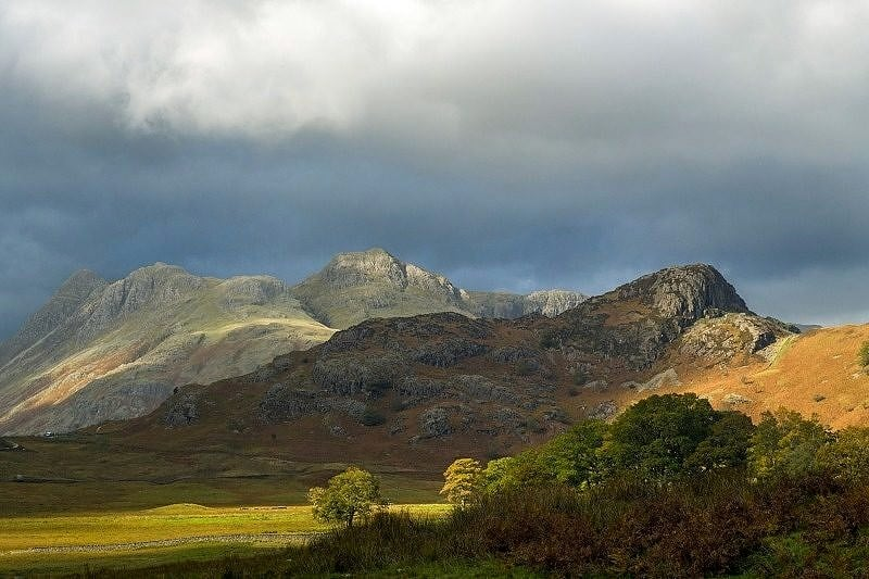 The Langdale Pikes and Side Pike
