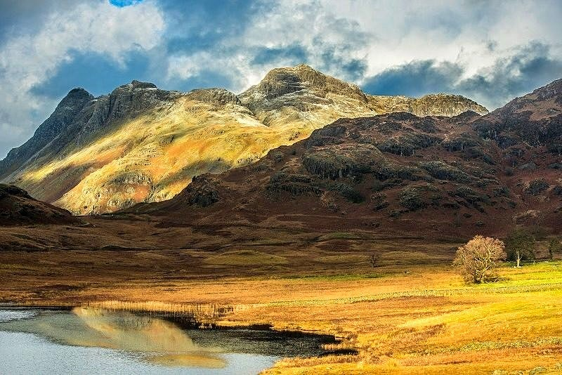 Langdale Pikes in the Lake District National Park