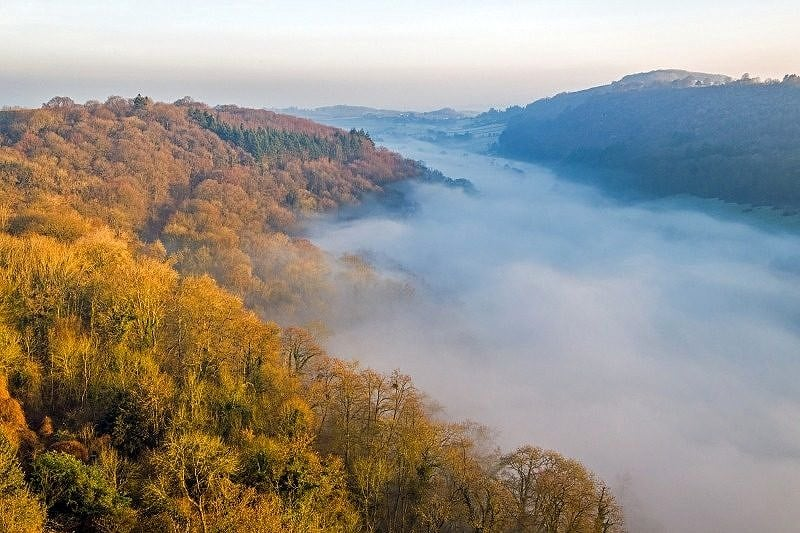 The Wye Valley and Cloud Inversion Gloucestershire