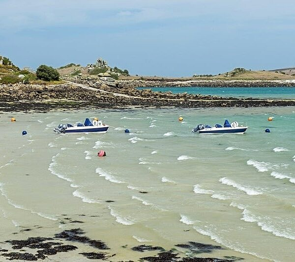 Old Grimsby Beach on Tresco