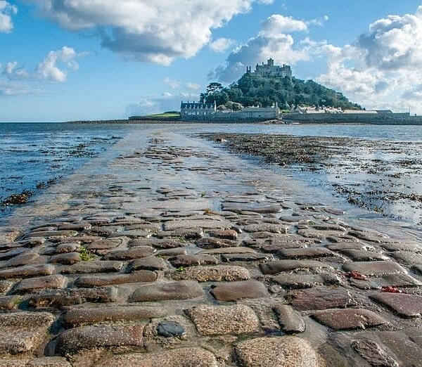 The Causeway to St Michael's Mount Marazion