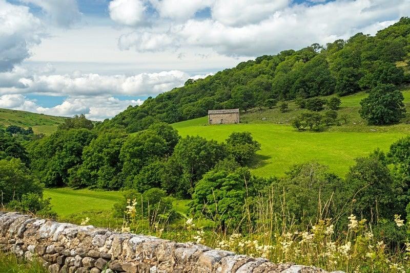 Dales Barn Langstrothdale Yorkshire Dales
