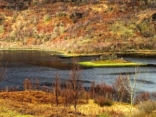 Looking Down oin Loch Leven
