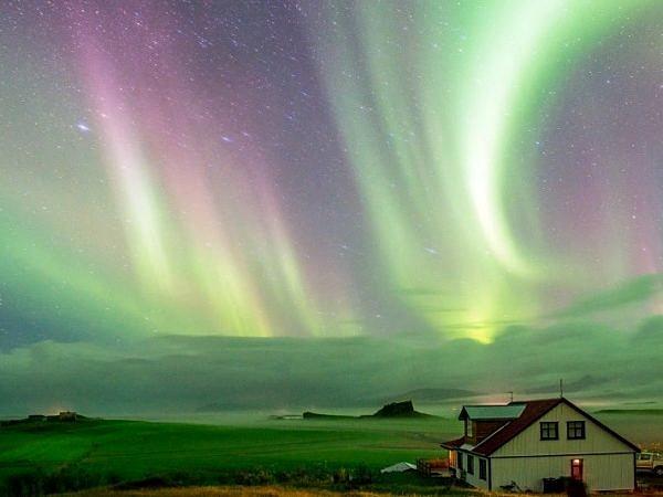 Aurora over Hofn 2