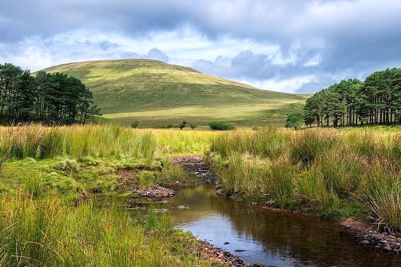 Cribyn in the Brecon Beacons Wales