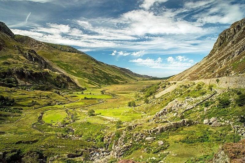 Nant Ffrancon Valley Snowdonia