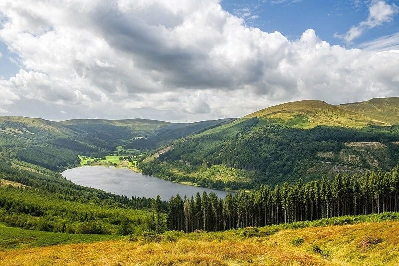 The Talybont Valley from Bwlch y Waun