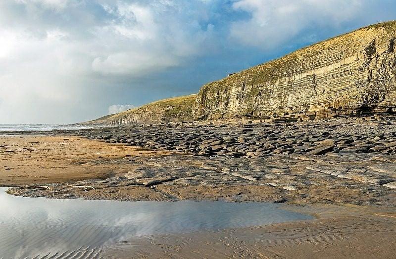 Dunraven Bay on the Glamorgan Heritage Coast