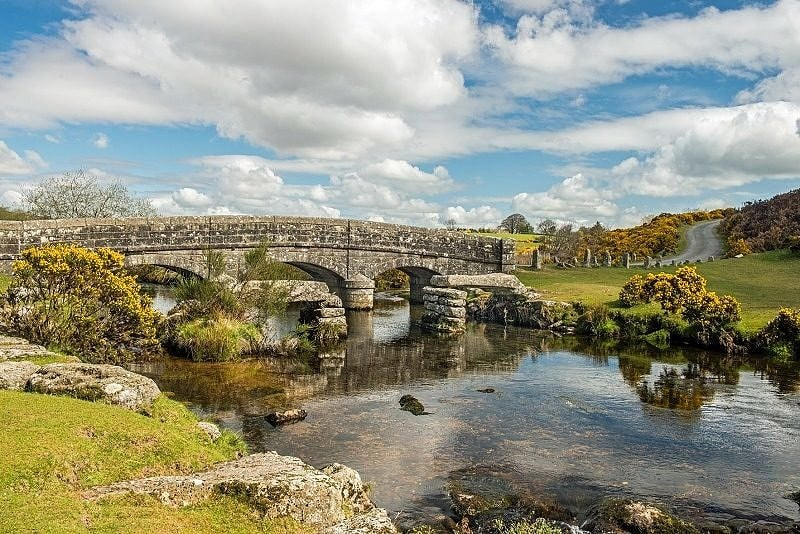 Bellever Bridges over the East Dart River