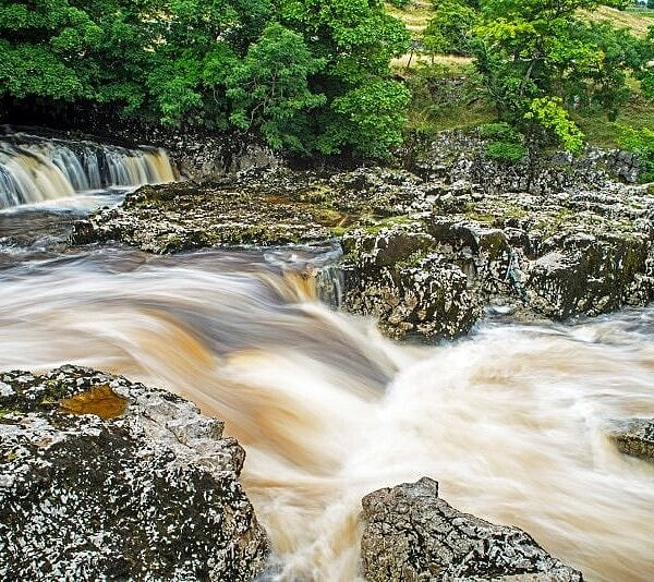 Linton Falls Grassington Yorkshire Dales