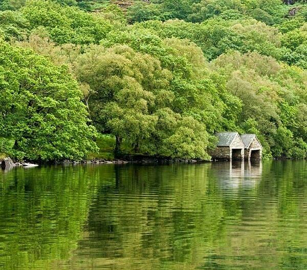 Boatsheds Llyn Dinas Snowdonia