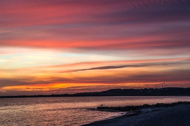 Sunset at Ogmore by Sea
