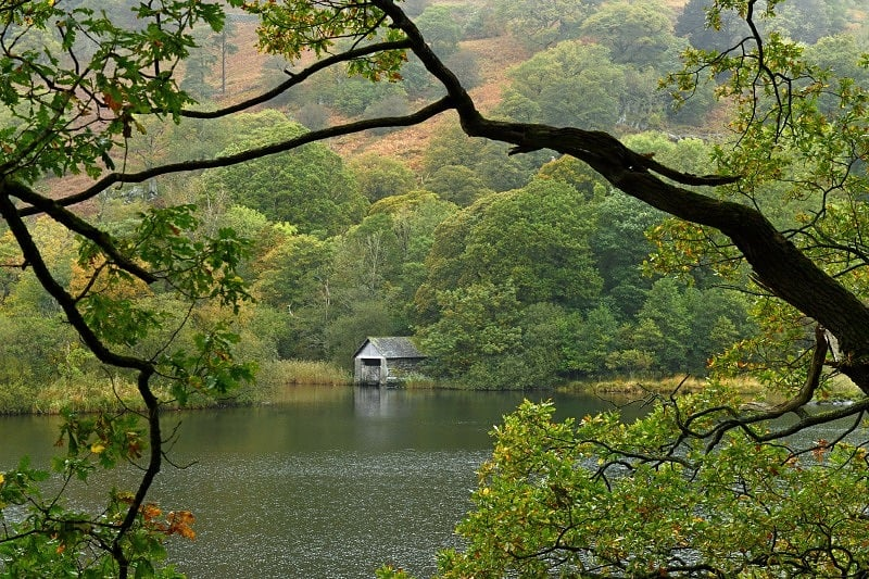 The Boathouse on Rydal Water Lake District