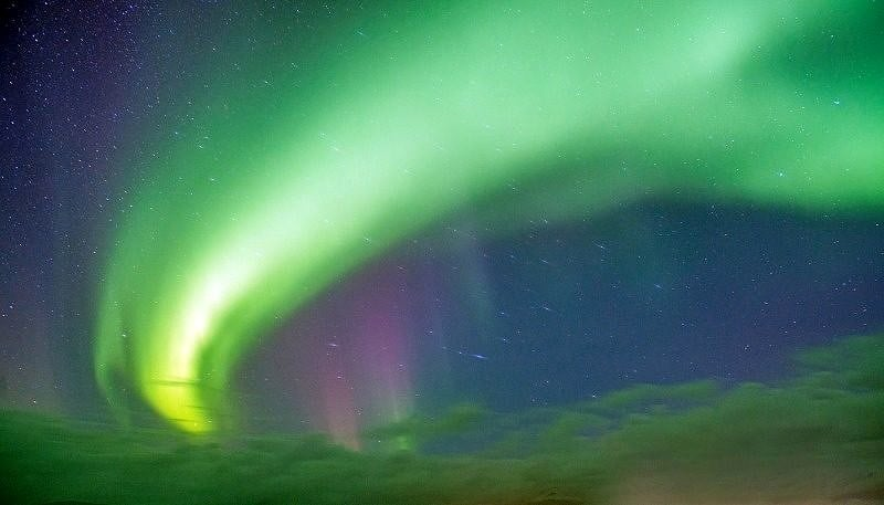 Aurora over Hofn 1