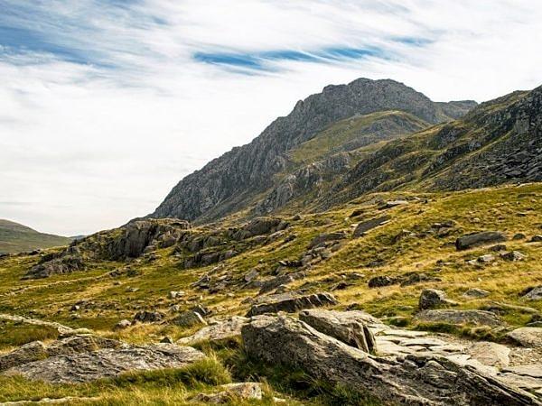 Tryfan from Cwm Idwal Snowdonia