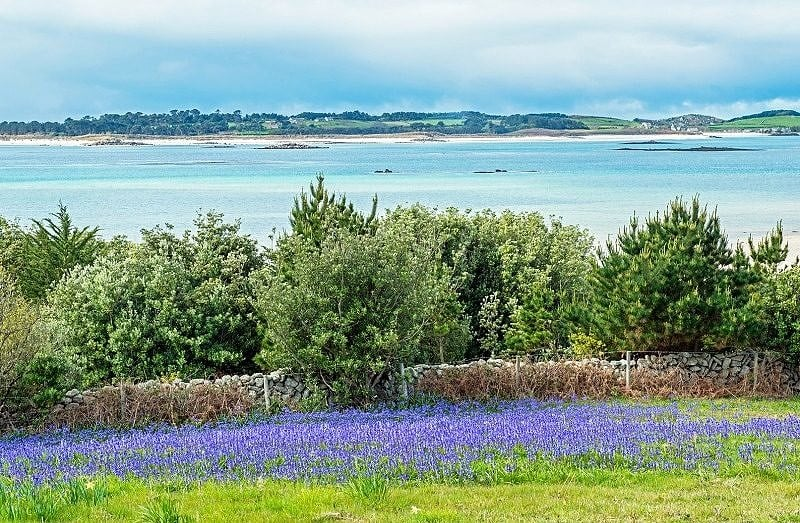 View from St Martins to Tresco
