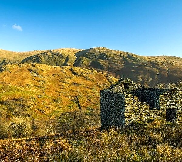 Abandoned Barn Upper Troutbeck Valley Lake District