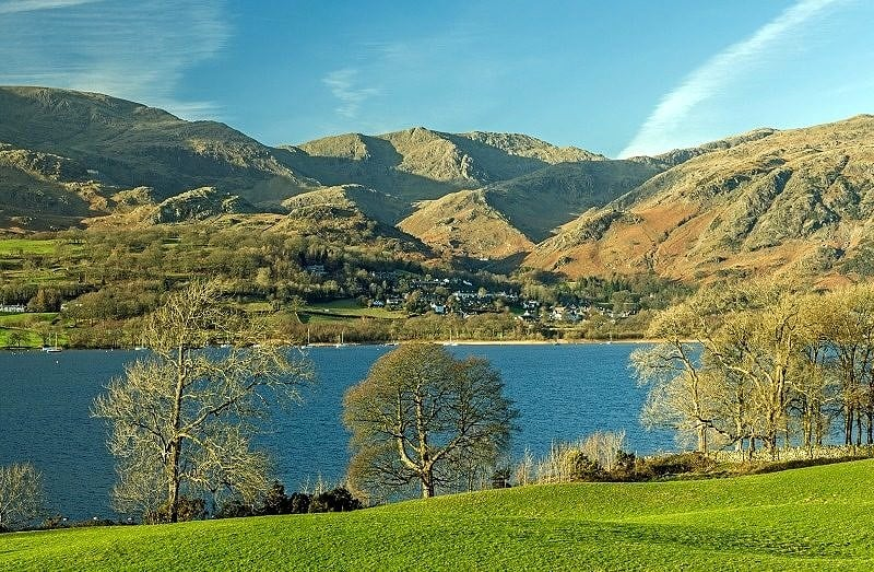 Coniston Water and the Coniston Fells