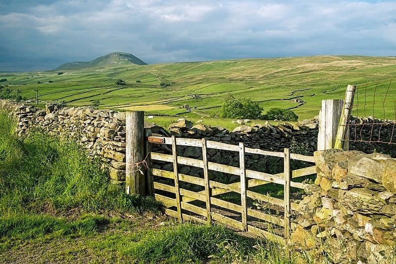 Pen y Ghent Across the Ribble Valley (Ribblesdale)