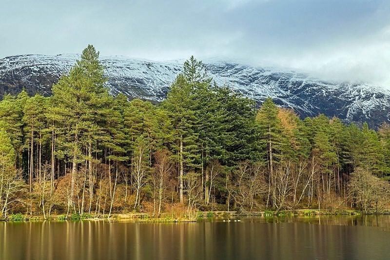 Glencoe Lochan in Winter