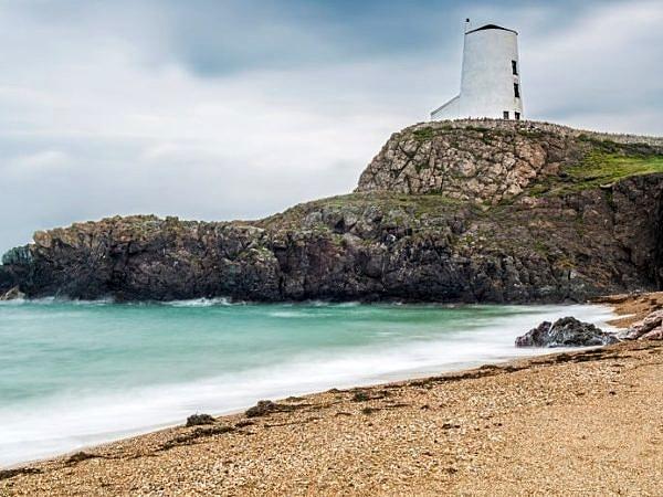 Beach Llanddwyn Island Anglesey