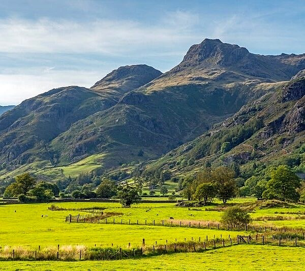 The Langdale Pikes Lake District