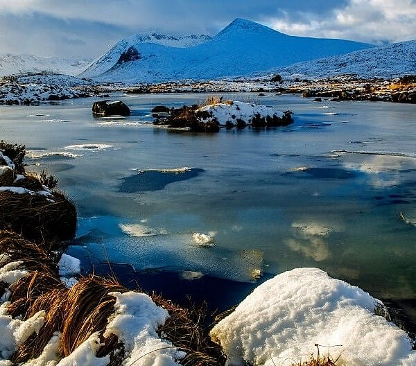 Rannoch Moor in Winter