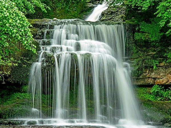 Waterfalls West Burton Yorkshire Dales