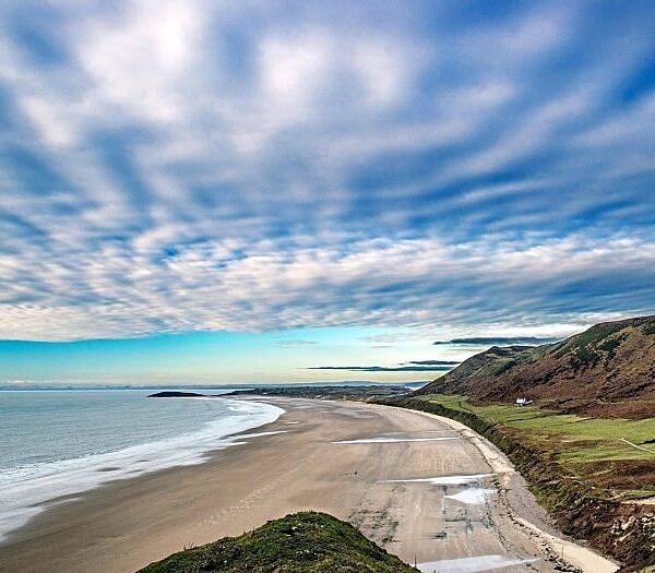 Rhossili Beach Gower South Wales