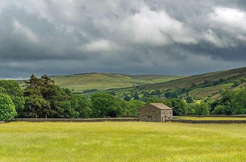 Swaledale at Muker Yorkshire Dales