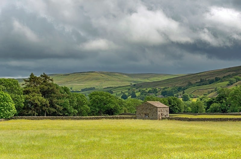 Swaledale at Muker Yorkshire Dales