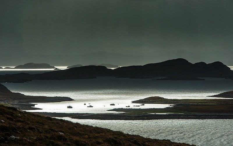 Summer Isles off the Coigach Peninsula