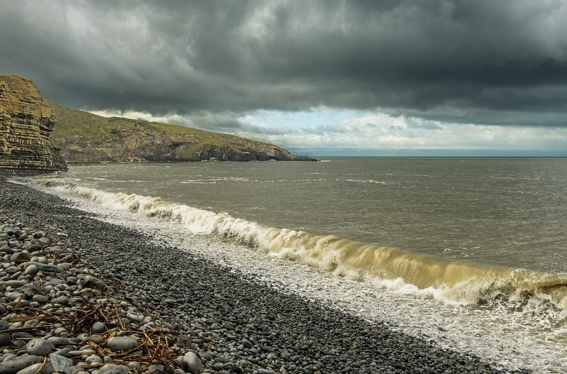 The Breaking Wave Dunraven Bay