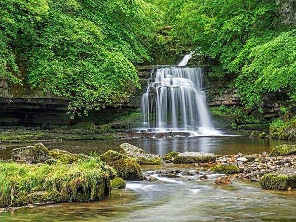Waterfalls West Burton Yorkshire Dales