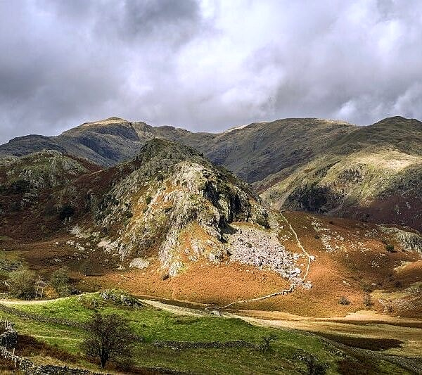 The Bell Coniston Fells Lake District Autumn
