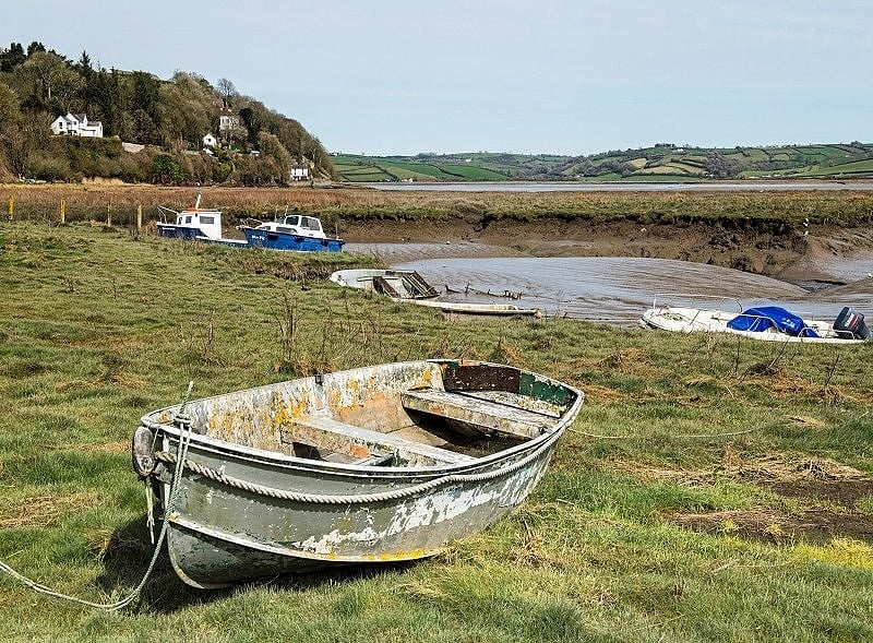 The Taf Esturay at Laugharne