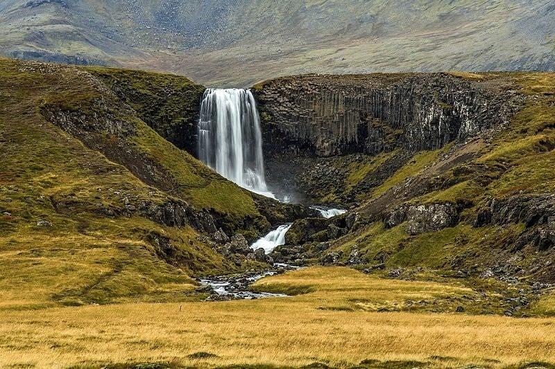 Svodufoss Snaefellsness Peninsular Iceland