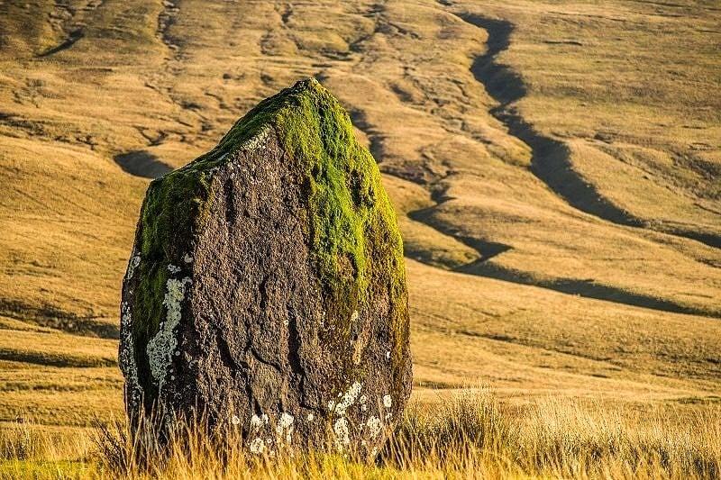 Maen Llia Standing Stone Brecon Beacons