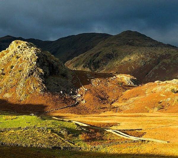 Autumn Light on the Coniston Fells