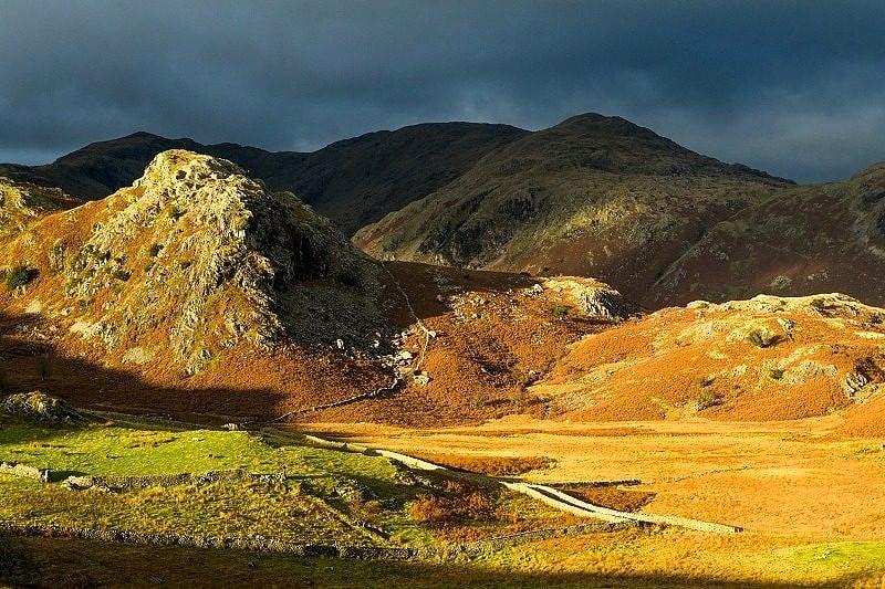 Autumn Light on the Coniston Fells