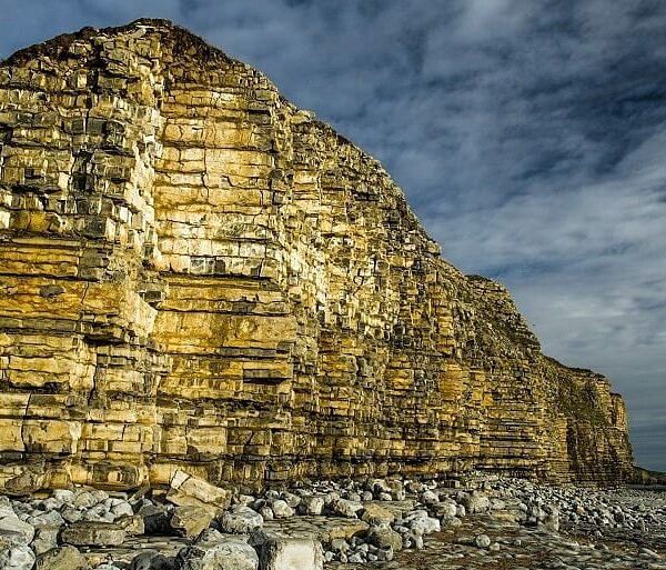 Winter Cliffs at Llantwit Major Beach
