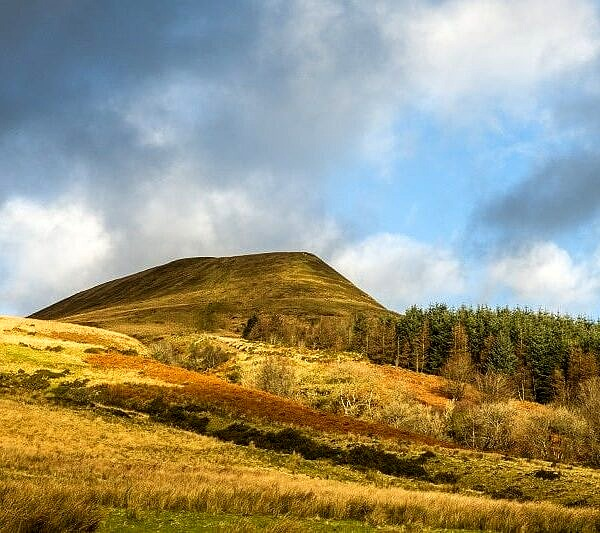 Torpantau Brecon Beacons South Wales December