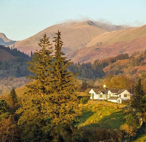 Great Rigg from near Skelwith Bridge Lake District