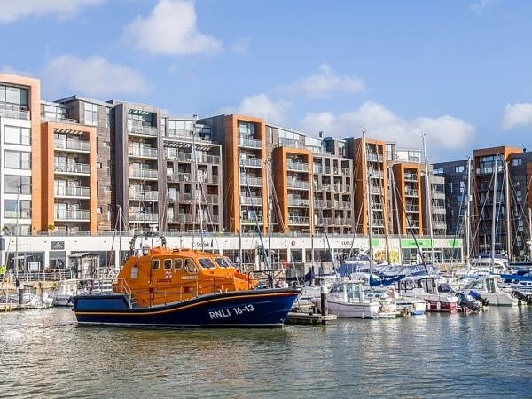 Portishead Marina and Lifeboat