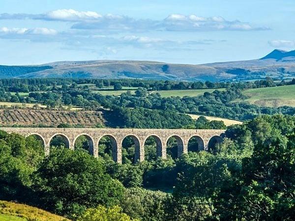 Cynghordy Railway Viaduct Mid Wales