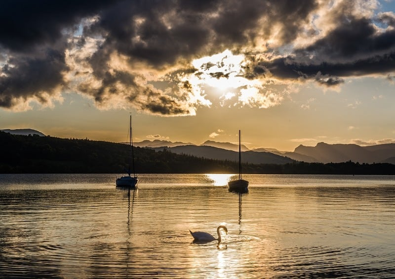 Evening at Millerground Windermere