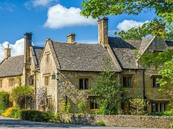 Houses Stanton Village Cotswolds Gloucestershire
