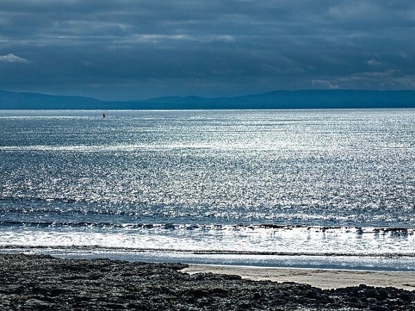 The Bristol Channel from Barry Island