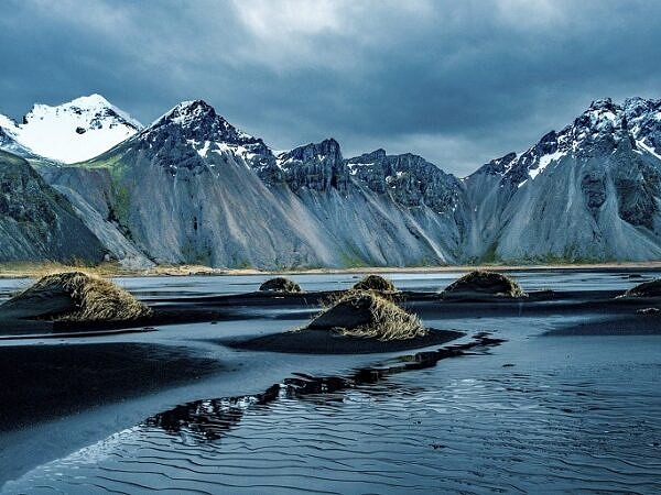 Vestrahorn Mountains south east Iceland
