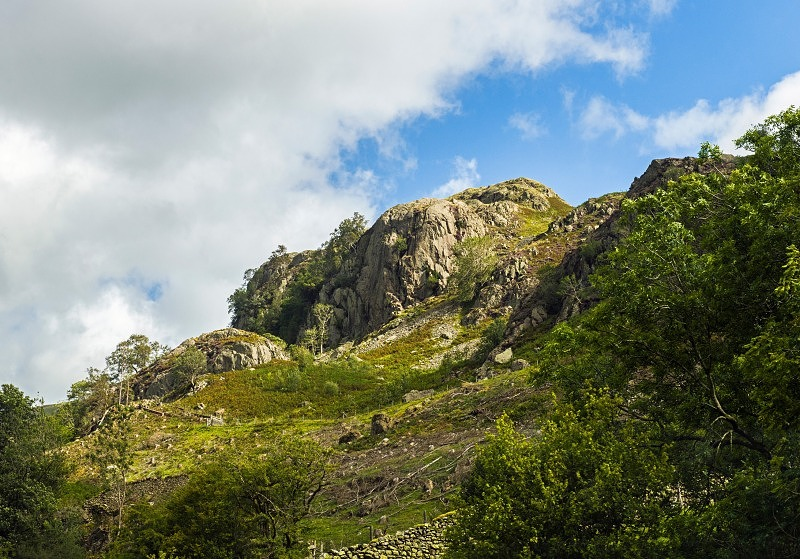 Castle Rock St Johns in the Vale Lake District